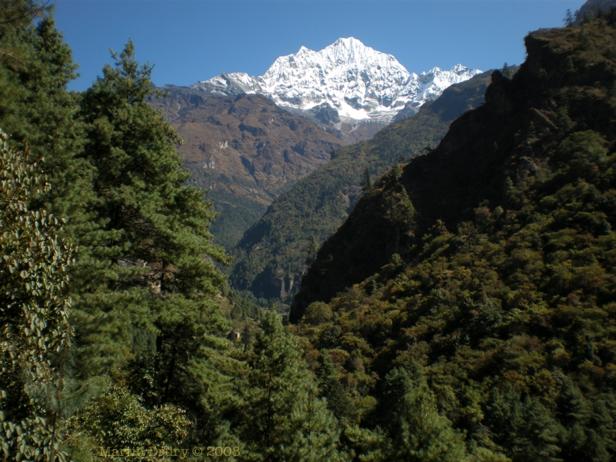 On route to Ama Dablam