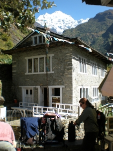 Lodge on route to Ama Dablam