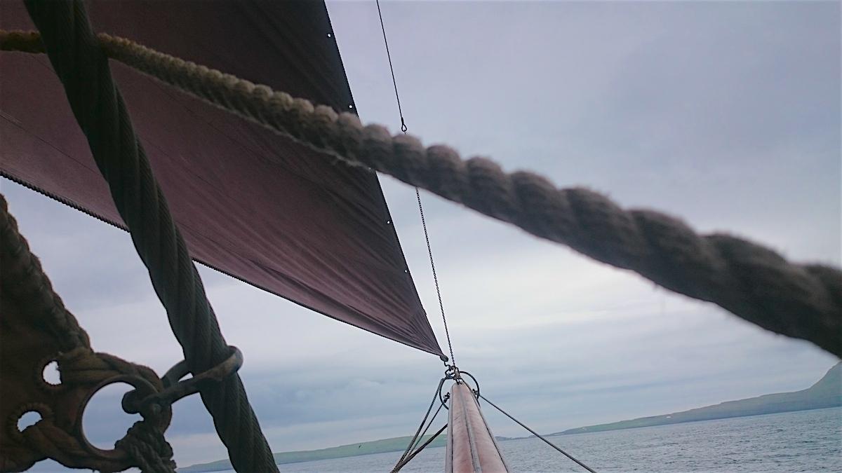 Johanna under Sail